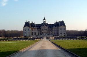 Photo du château de Vaux le Vicomte
