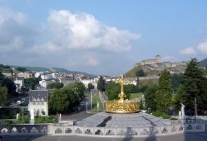 Image du château fort de Lourdes