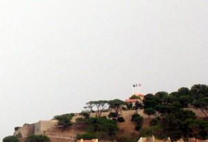 Image de la citadelle de Saint-Tropez